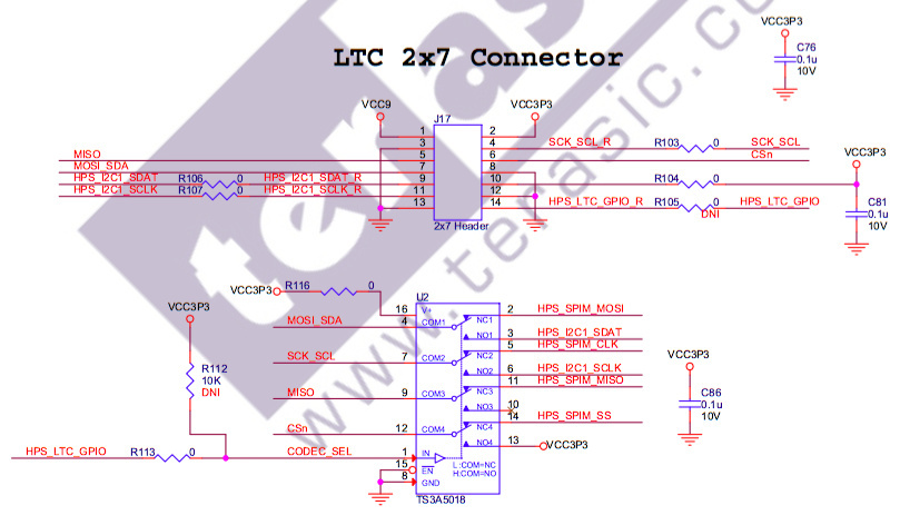 I2C on Atlas-SoC via LTC pins - RocketBoards General - RocketBoards